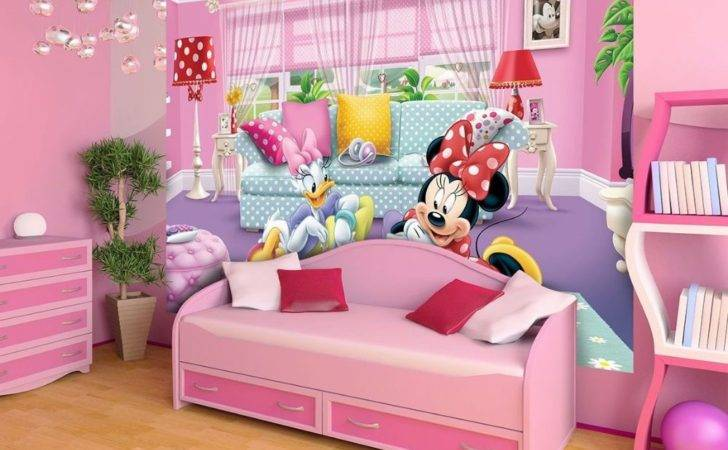 Minnie Deasy Disney Girl Room Homewallmurals