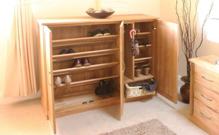 Mobel Shoe Cupboard Rack Extra Large Storage Cabinet Solid