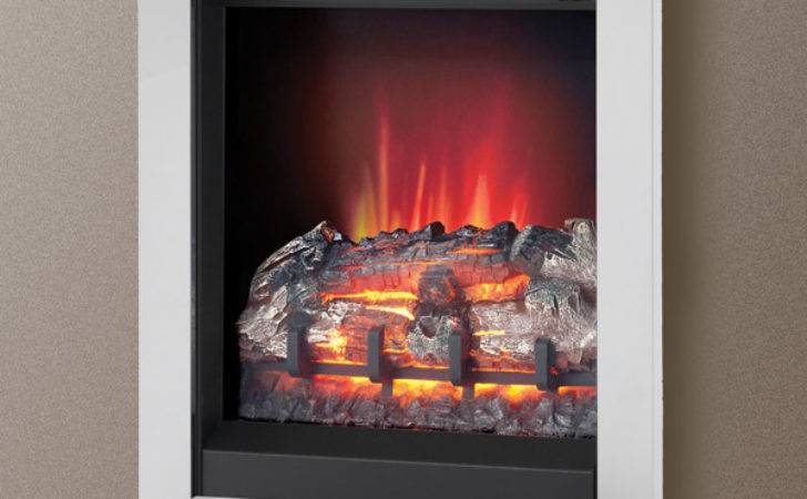 Modern Athena Wall Mounted Electric Fire Flames
