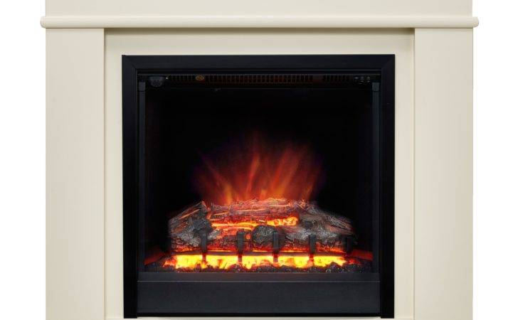 Modern Avalon Electric Freestanding Fire Suite