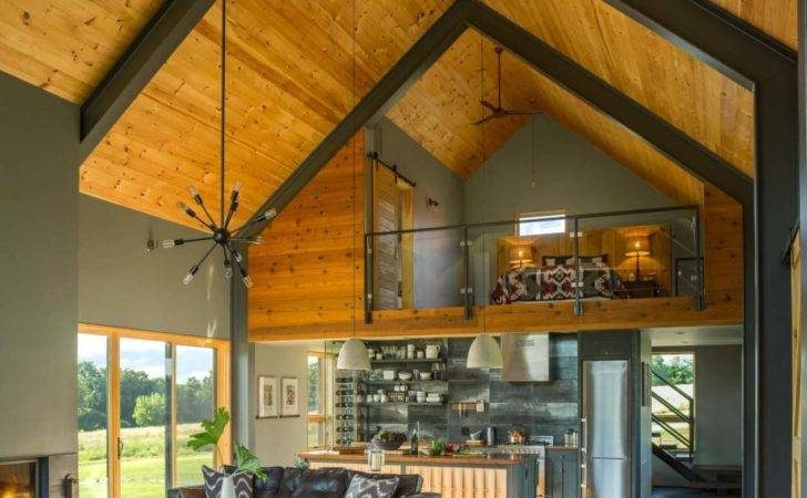 Modern Barn House Interiors Indiepedia