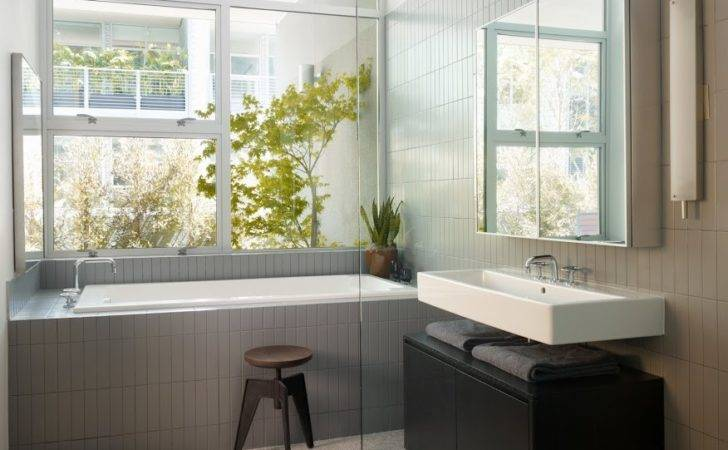 Modern Bathroom Grey Design Olpos