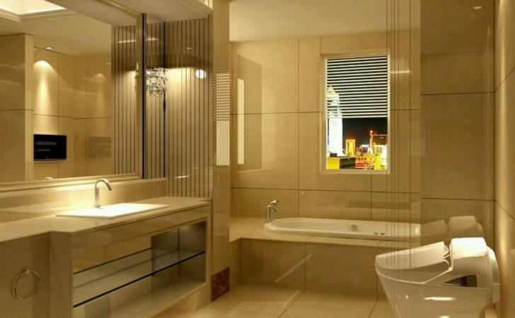 Modern Bathrooms Setting Ideas Furniture