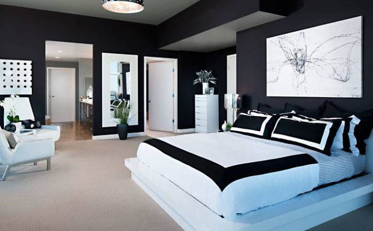 Modern Black White Bedroom Designs Decor Ideasdecor