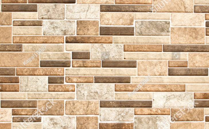 Modern Ceramic Tile Wall Construction