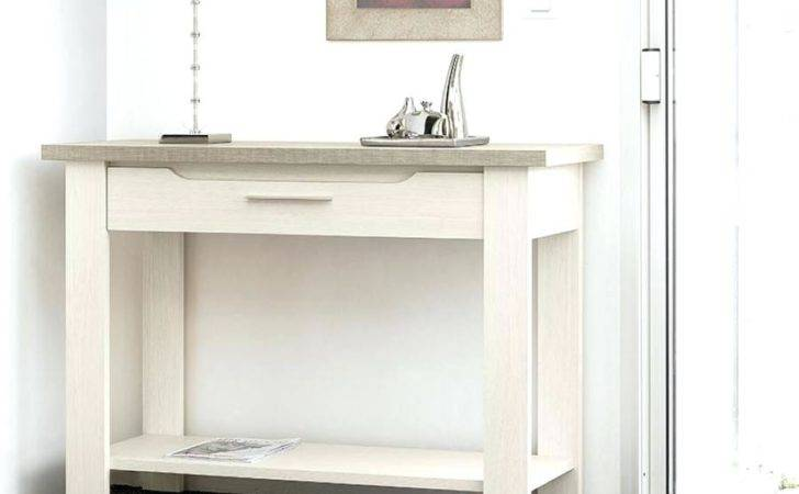 Modern Console Table Drawers Thelt