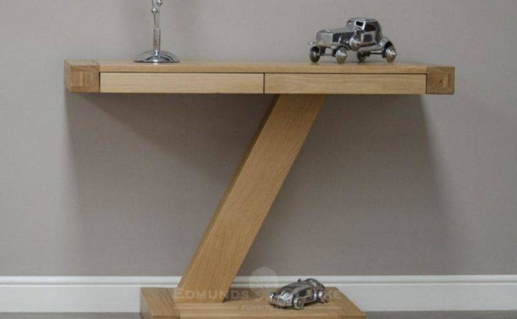 Modern Console Table Oak Hall Tables