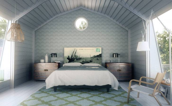 Modern Country Bedroom Eclectic New York