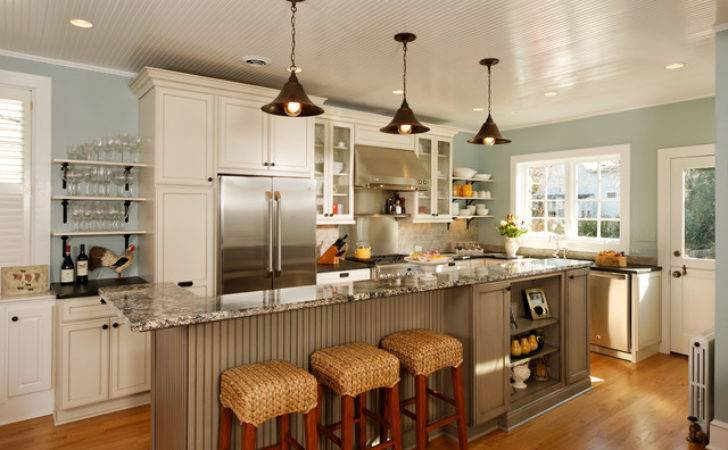 Modern Country Kitchen Traditional