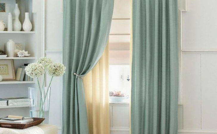 Modern Curtain Ideas Living Room Combination Color