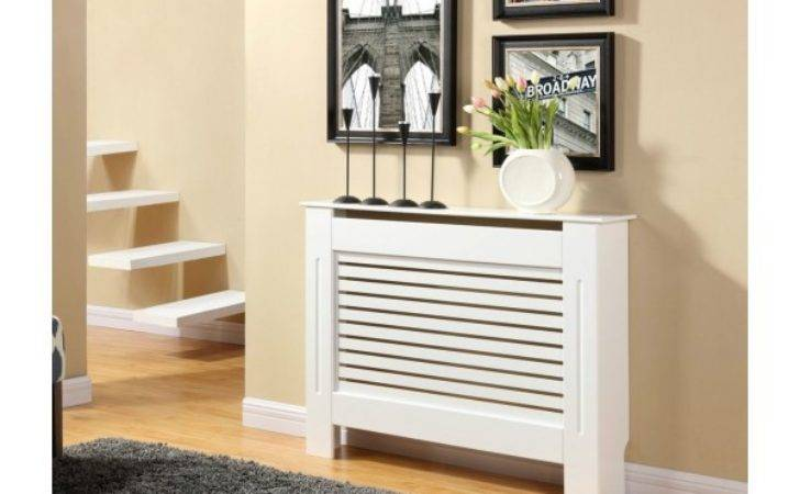 Modern Design Mdf Radiator Cover White