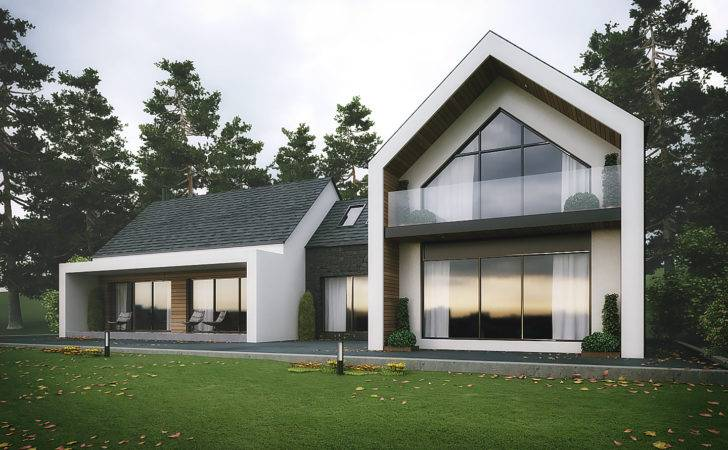 Modern Dromintee Replacement House Newry Architects