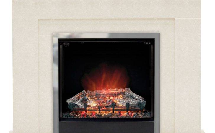 Modern Evelina Led Electric Fire Suite Departments