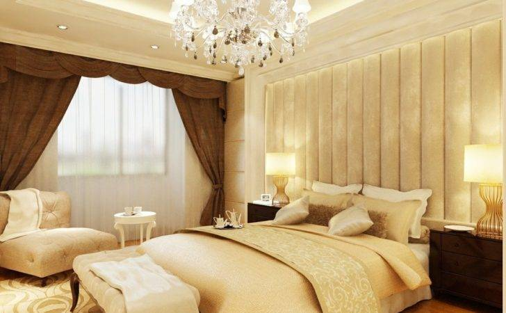 Modern French Bedroom Rendering House