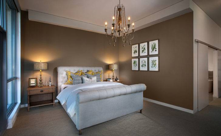 Modern French Country Contemporary Bedroom Orange County