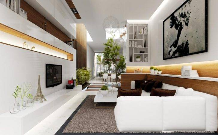 Modern French Living Room Interior Design Ideas