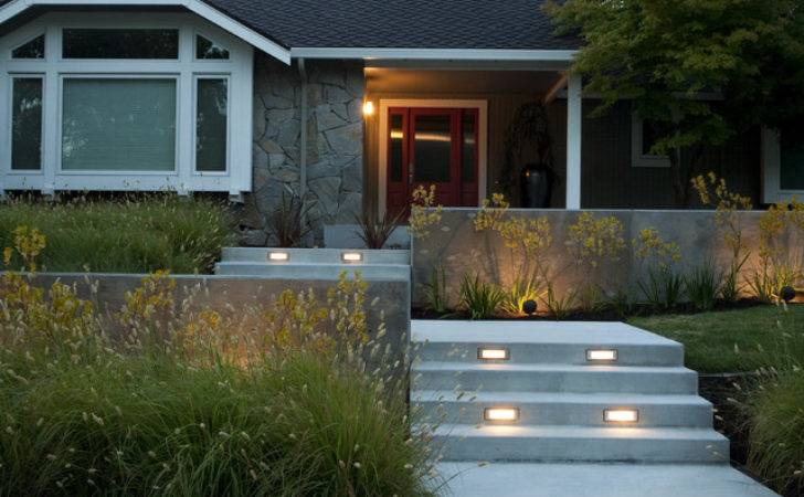 Modern Front Yard Designs Home Decorating Ideas