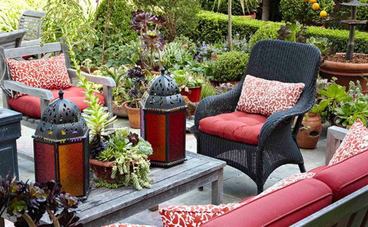 Modern Furniture Patio Decorating Tips Summer