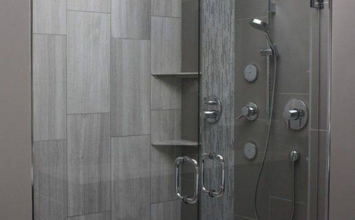 Modern Gray Bathroom Tiles Ideas