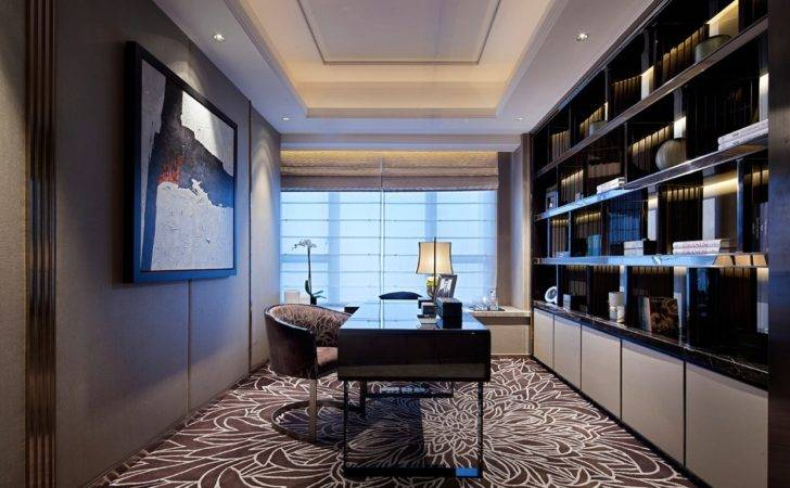 Modern Home Office Interior Design Ideas