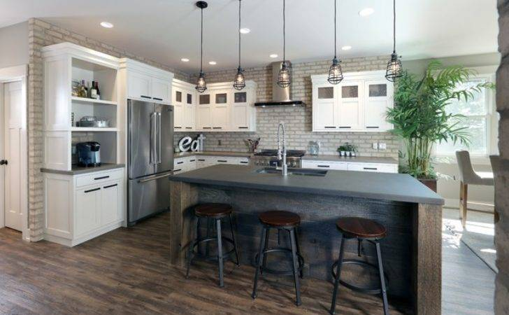 Modern Industrial Residence Kitchen Grand