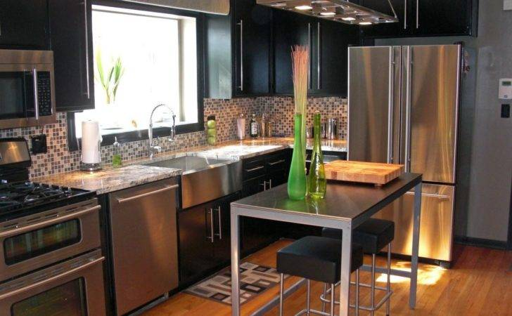 Modern Industrial Style Kitchen Design Orchidlagoon