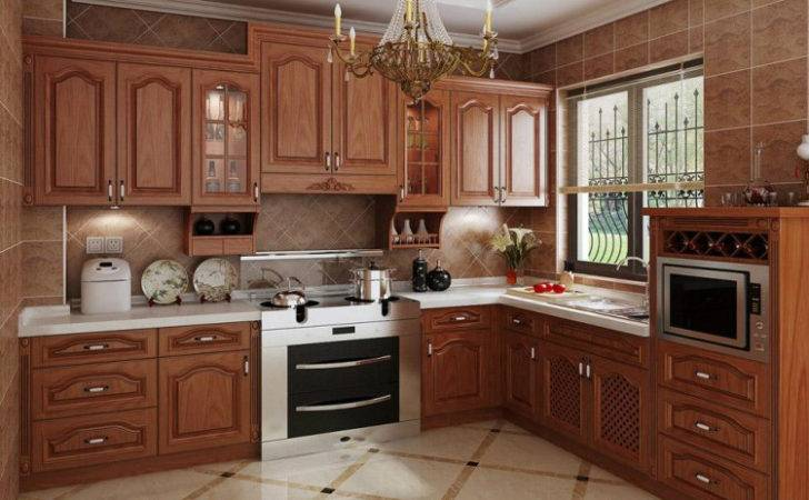 Modern Kitchen Design Wood Cabinet
