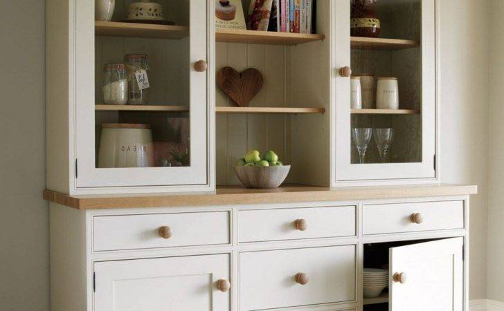 Modern Kitchen Dresser Wood Stylish