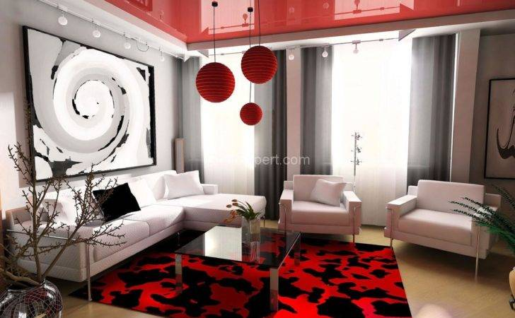 Modern Living Room Mixed Color Furniture