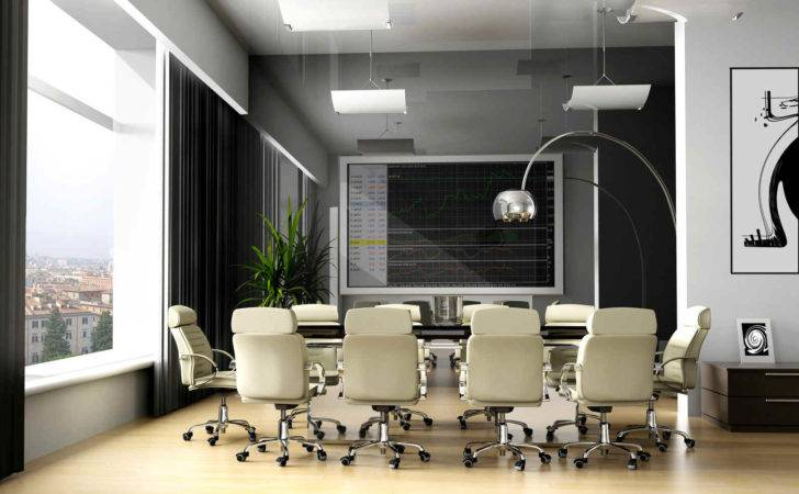 Modern Office Meeting Room New Conference
