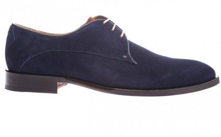 Modern Purchase Cheap Suede Shoe Navy Oliver Sweeney
