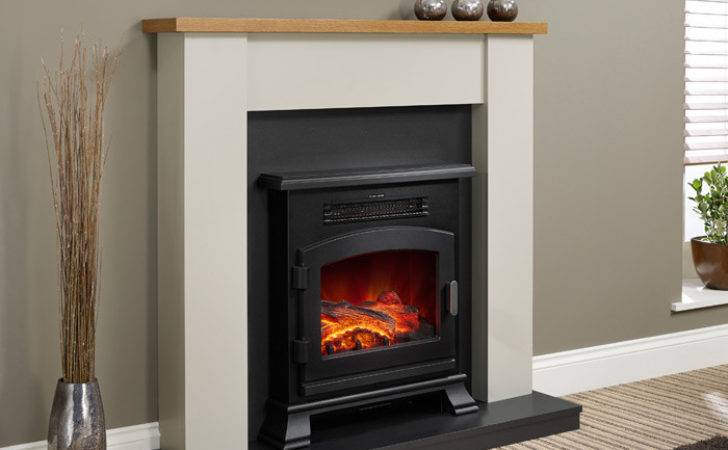 Modern Ravensdale Electric Fireplace Suite Stoves