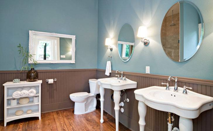 Modern Reincarnation Traditional Victorian Bathroom