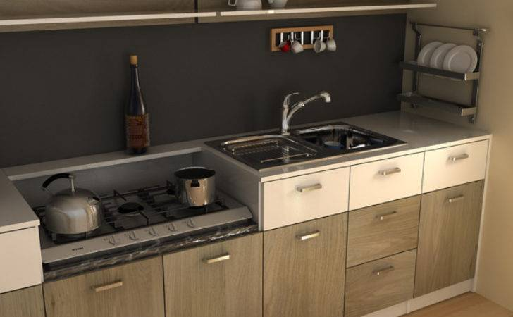Modern Small Kitchen Cabinetry Other