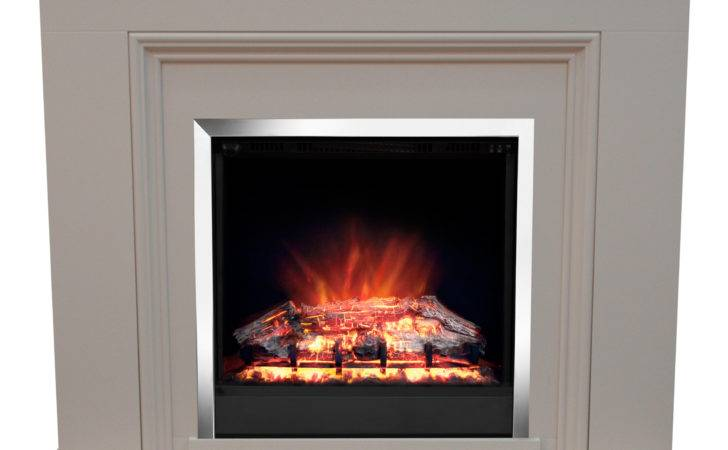 Modern Stanton Electric Fireplace Suite