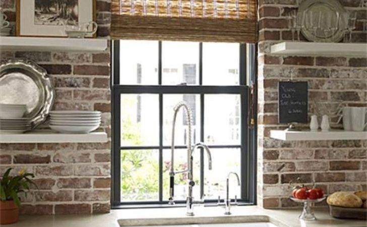 Modern Style Meets Old World Charm Exposed Brick