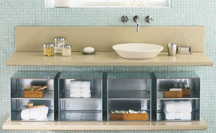 Modern Under Sink Bathroom Storage