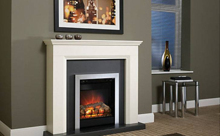 Modern Westcroft Electric Fire Suite Wickes