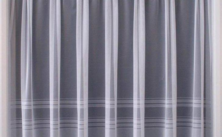 Modern White Sheer Curtain Luxury Lace Curtains Nets