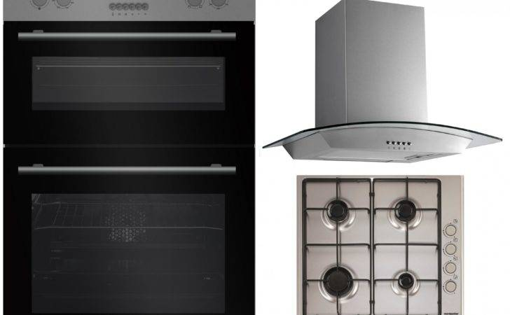 Montpellier Mdo Built Double Electric Oven Gas Hob