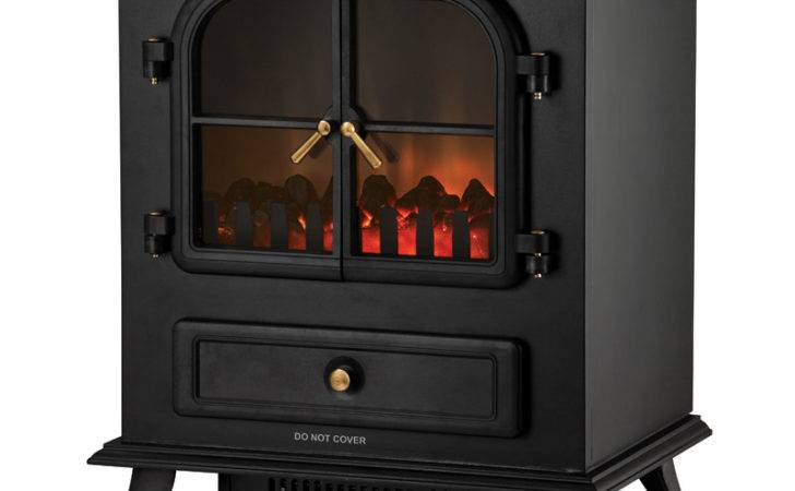 Moretti Flame Effect Electric Fireplace Heater