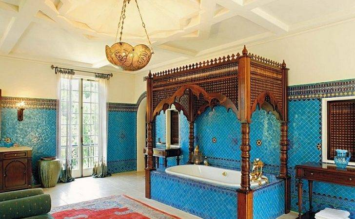 Moroccan Bathrooms Modern Flair Ideas Inspirations