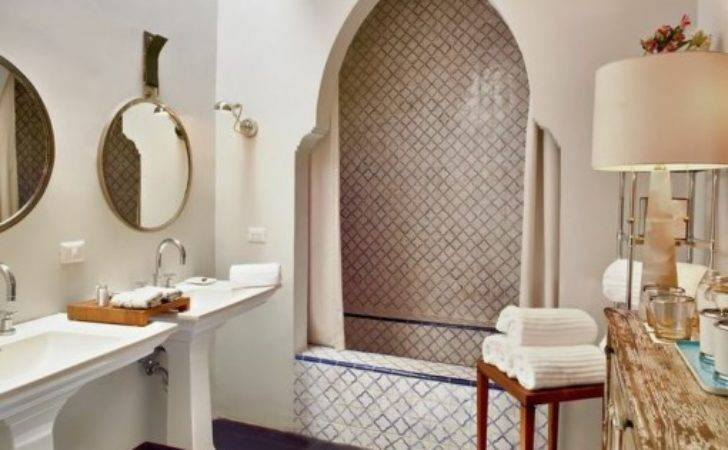 Moroccan Inspired Mexican Bathroom Covet Living