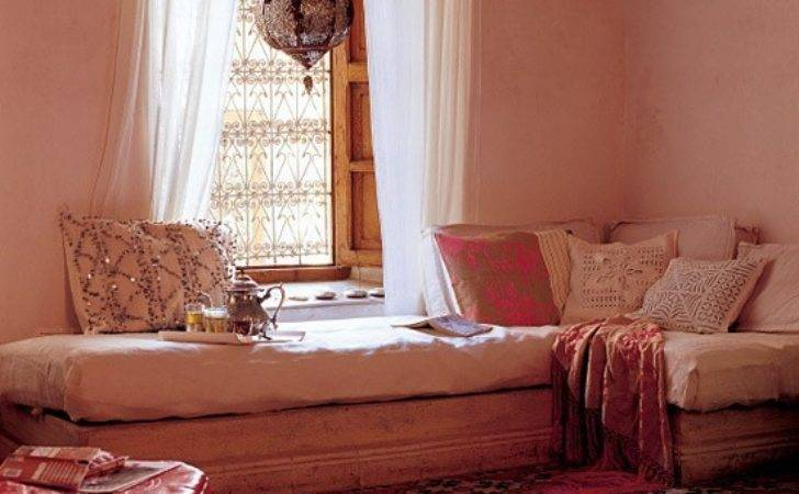 Moroccan Inspired Room Patterned Accessories