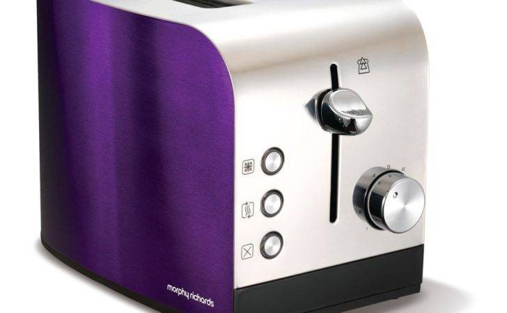 Morphy Richards Accents Slice Polished Toaster