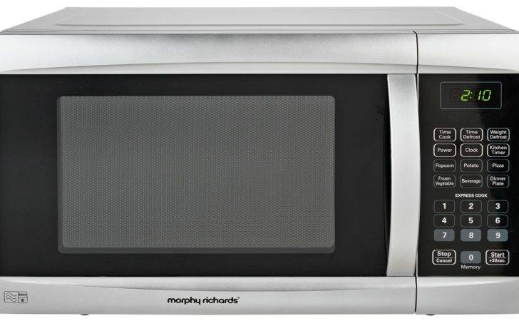 Morphy Richards Ags Solo Microwave Black