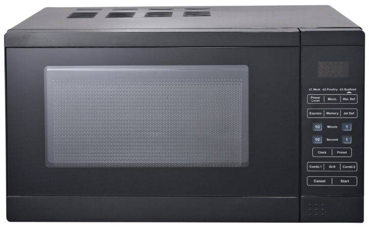 Morphy Richards Microwave Grill Black