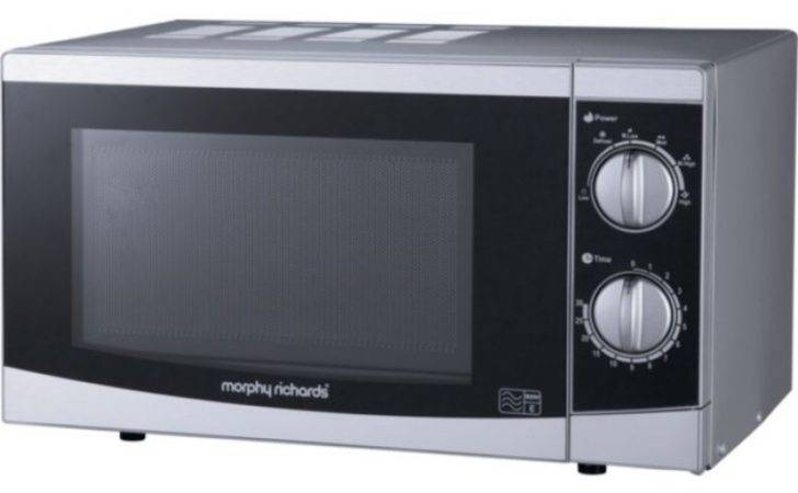 Morphy Richards Solo Microwave Steel