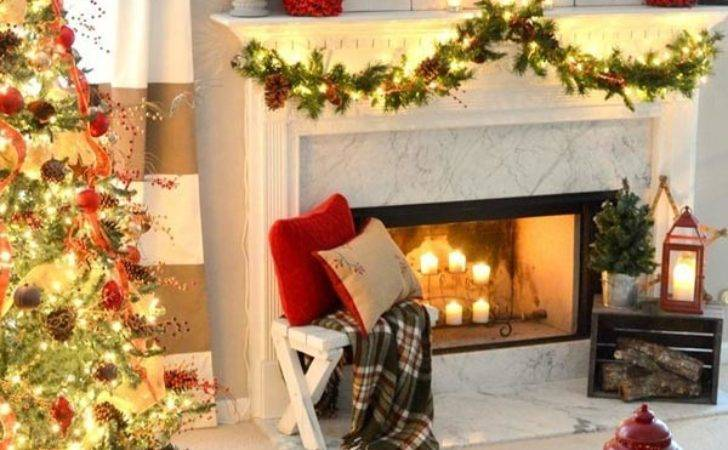 Most Beautiful Christmas Living Room Decorating Ideas