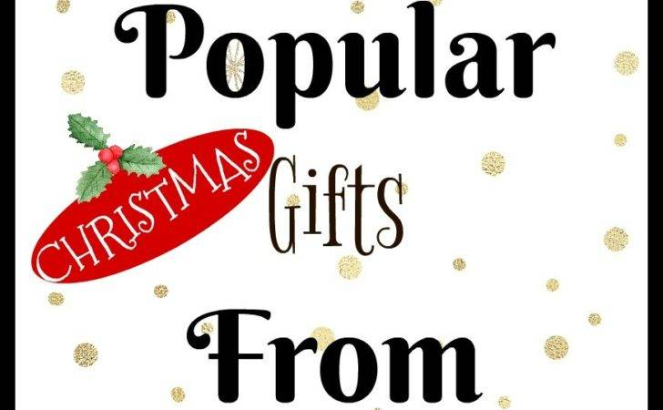 Most Popular Christmas Gifts